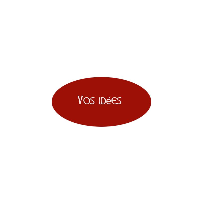 Votre sticker ovale personnalisé