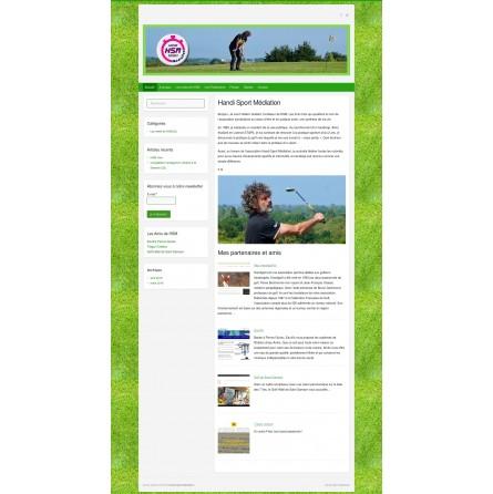 Nous hébergeons et installons votre site web de type blog